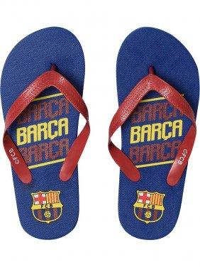 """Σαγιονάρες """"FC Barcelona"""" κόκκινο-μπλε"""