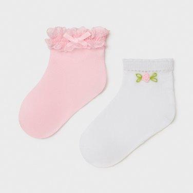 """Σετ 2 ζευγάρια κάλτσες """"Rose"""""""