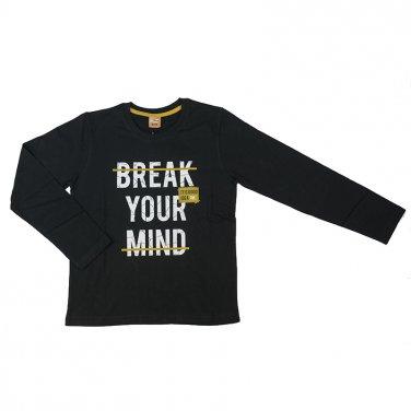 """Μπλούζα """"Break your mind"""" Μαύρη"""