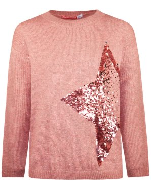 Πουλόβερ ''Star'' ροζ
