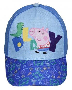 """Καπέλο Peppa Pig """"Play with George"""" γαλάζιο"""