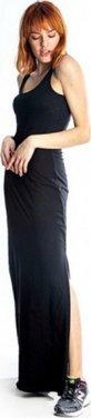 """Φόρεμα """"MAXI"""" μαύρο"""
