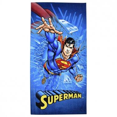 """Αυθεντική πετσέτα """"Superman"""" (70X140)"""