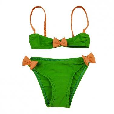 """Μαγιό μπικίνι """"Ribbon"""" πράσινο"""