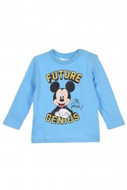 """Μπλούζα εποχιακή Mickey mouse """"Future genius"""" γαλάζια"""