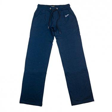 Παντελόνι φόρμας φούτερ ίσιο μπλε